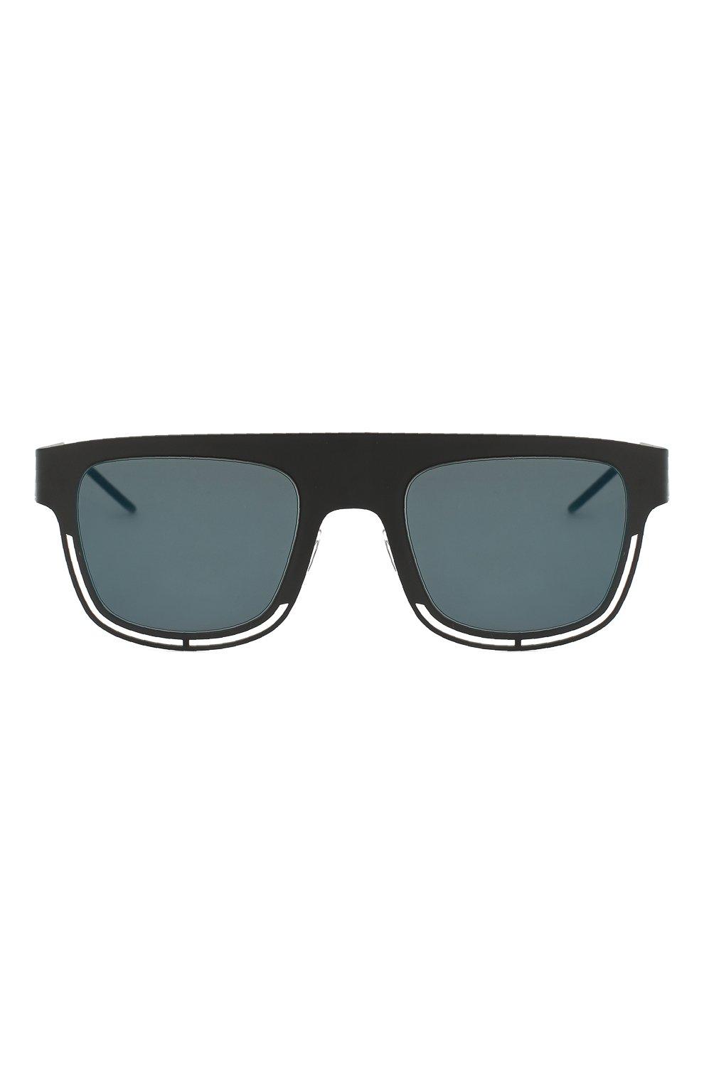 Мужские солнцезащитные очки DOLCE & GABBANA черного цвета, арт. 2232-110696 | Фото 2