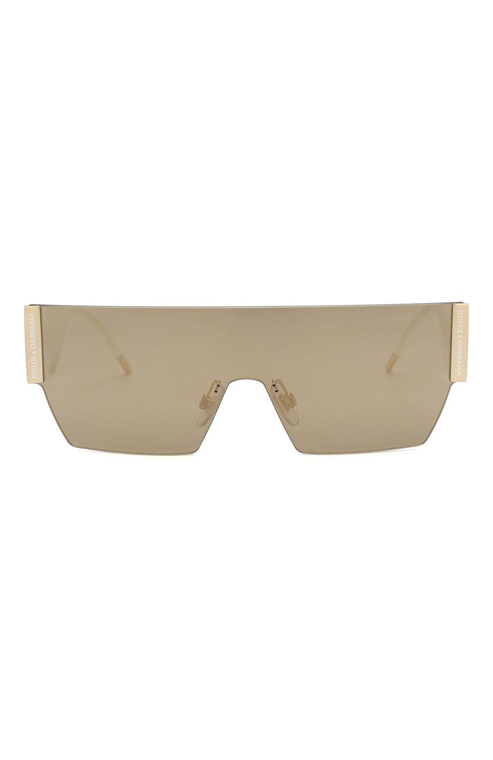 Мужские солнцезащитные очки DOLCE & GABBANA белого цвета, арт. 2233-488/5A   Фото 2