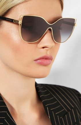 Мужские солнцезащитные очки DOLCE & GABBANA черного цвета, арт. 2236-02/8G | Фото 2