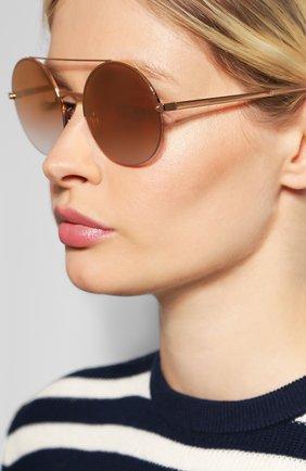 Мужские солнцезащитные очки DOLCE & GABBANA золотого цвета, арт. 2237-12986F | Фото 2