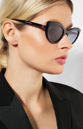 Мужские солнцезащитные очки DOLCE & GABBANA синего цвета, арт. 6124-30944L | Фото 2