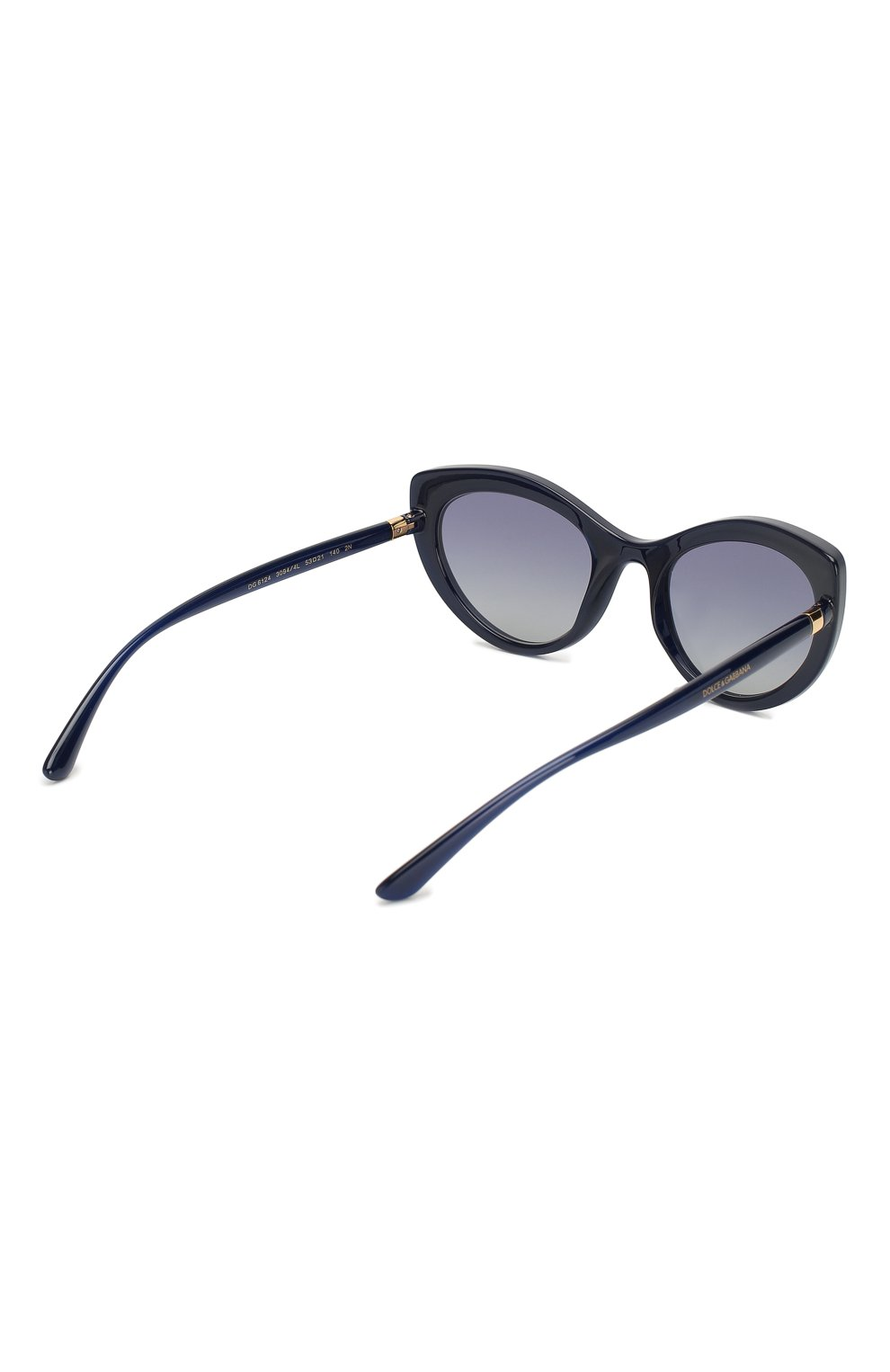 Женские солнцезащитные очки DOLCE & GABBANA синего цвета, арт. 6124-30944L   Фото 4