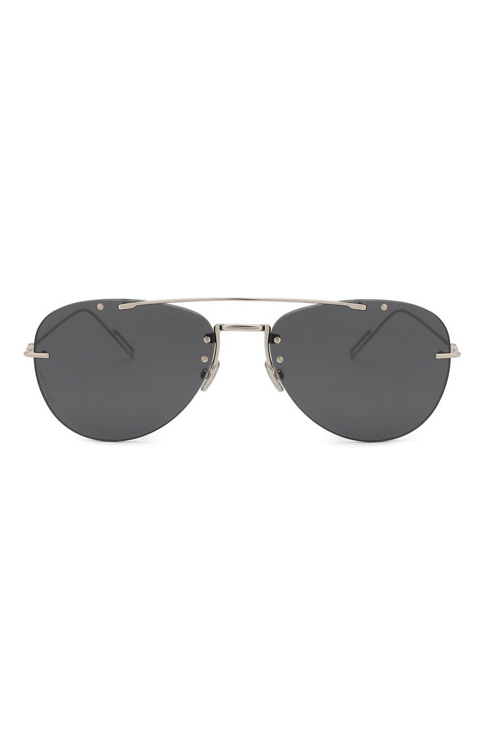 Мужские солнцезащитные очки DIOR темно-серого цвета, арт. DI0RCHR0MA1F 010 2K | Фото 2