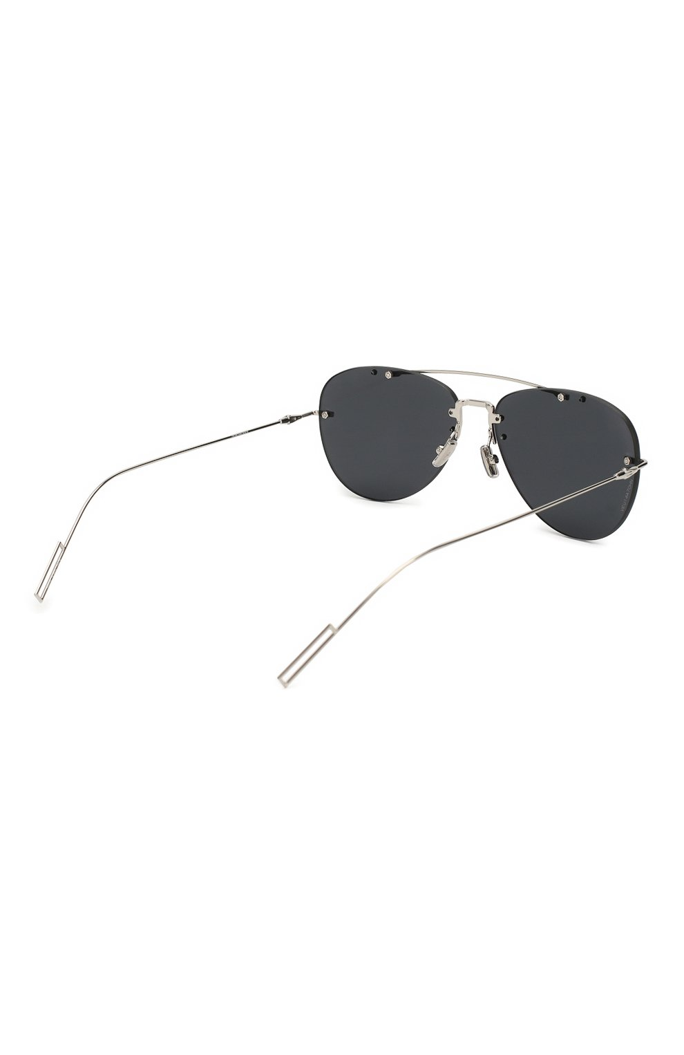 Мужские солнцезащитные очки DIOR темно-серого цвета, арт. DI0RCHR0MA1F 010 2K | Фото 3