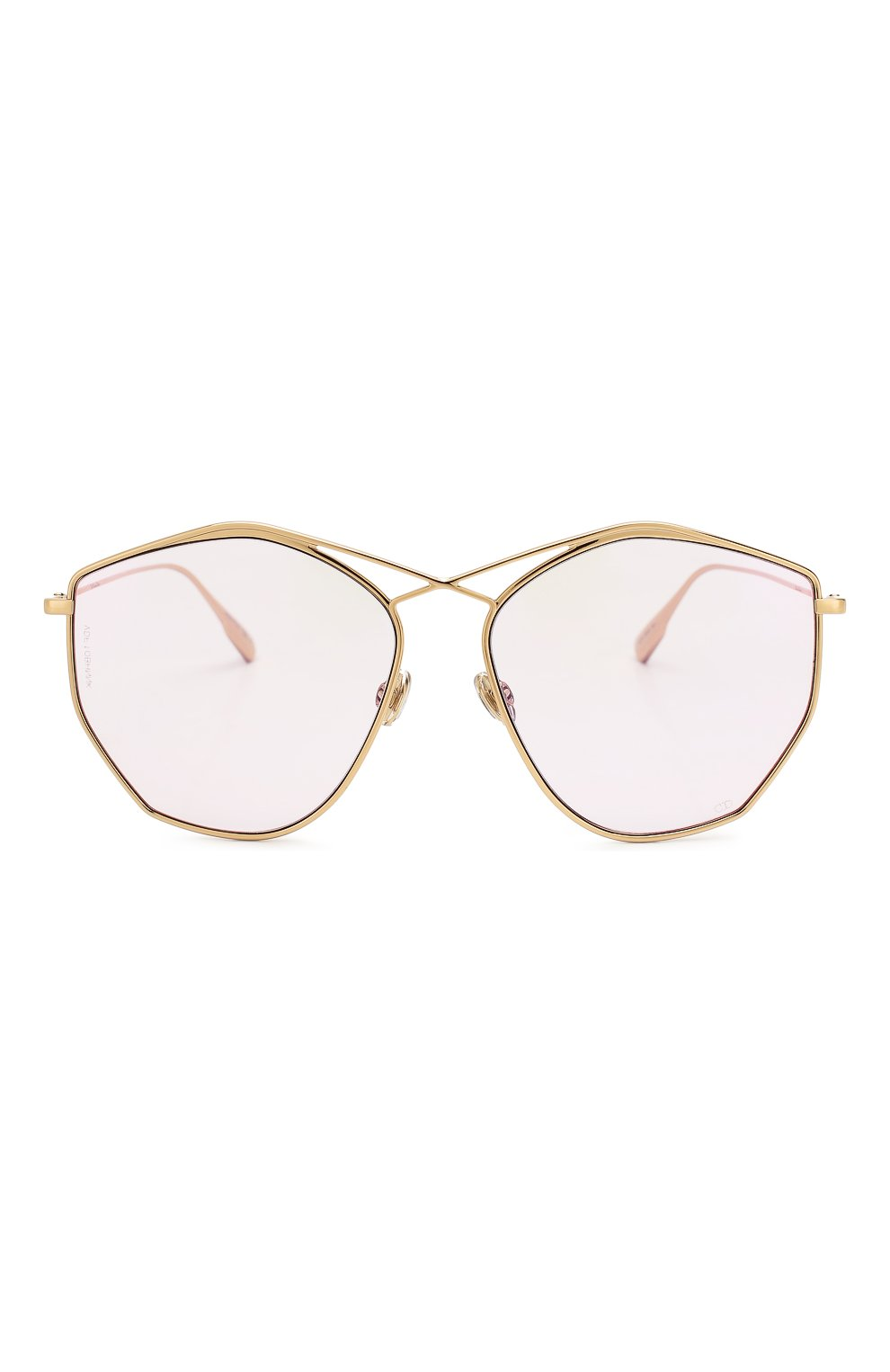 Женские солнцезащитные очки DIOR светло-розового цвета, арт. DI0RSTELLAIRE4 000 | Фото 3