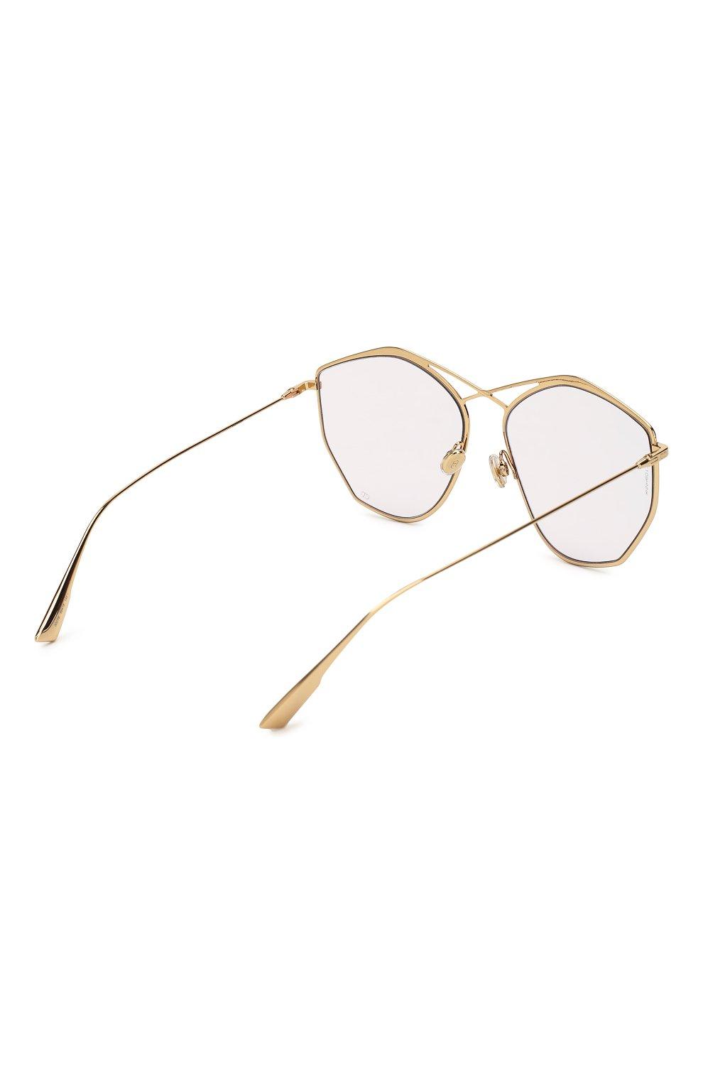 Женские солнцезащитные очки DIOR светло-розового цвета, арт. DI0RSTELLAIRE4 000 | Фото 4