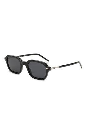 Мужские солнцезащитные очки DIOR черного цвета, арт. TECHNICITY1 807 | Фото 1