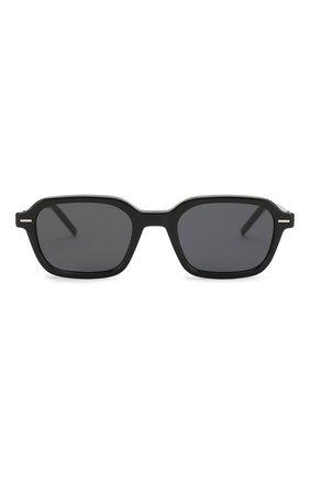 Мужские солнцезащитные очки DIOR черного цвета, арт. TECHNICITY1 807 | Фото 2