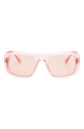 Женские солнцезащитные очки TOM FORD светло-розового цвета, арт. TF731 72Y | Фото 3