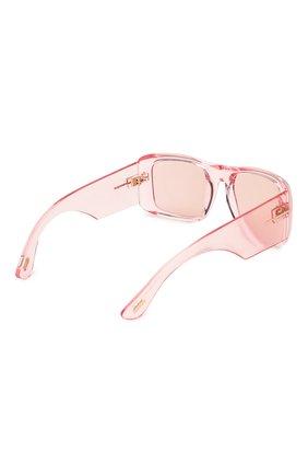 Женские солнцезащитные очки TOM FORD светло-розового цвета, арт. TF731 72Y | Фото 4