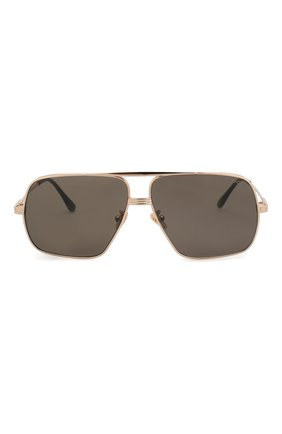 Мужские солнцезащитные очки TOM FORD золотого цвета, арт. TF735-H 28A | Фото 2