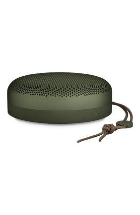 Мужские портативная акустика beoplay a1 BANG&OLUFSEN зеленого цвета, арт. 1297862 | Фото 2