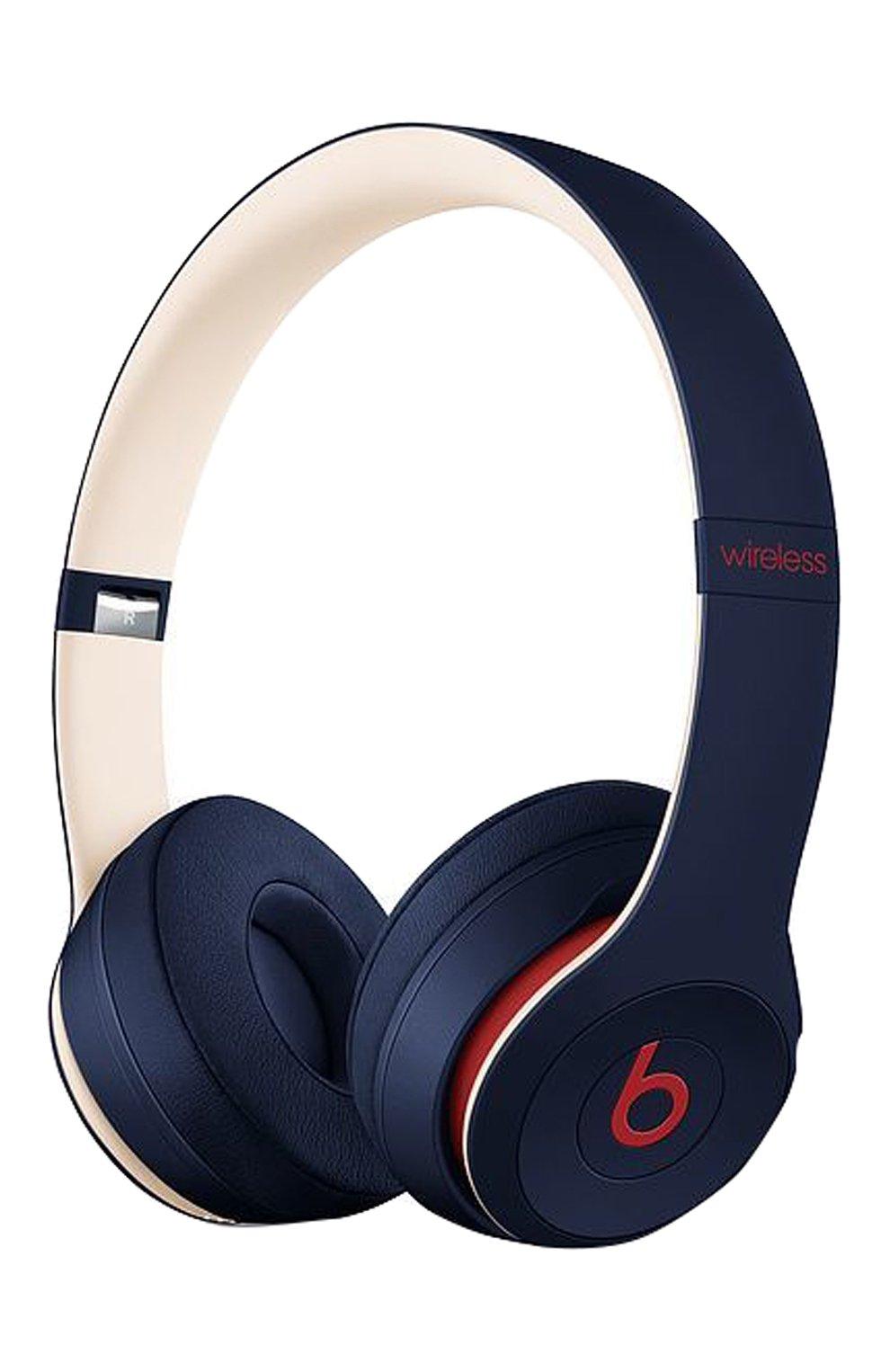 Мужские беспроводные наушники beats solo 3 wireless club BEATS темно-синего цвета, арт. MV8W2EE/A   Фото 1