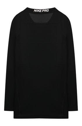 Детская лонгслив NIKE черного цвета, арт. 858230-011 | Фото 2
