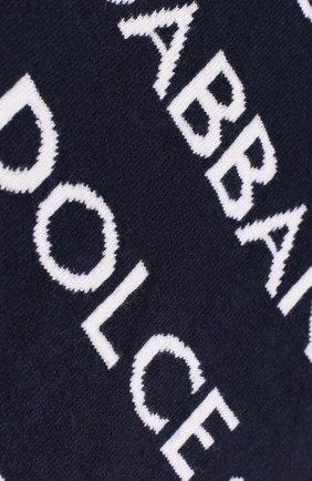 Детский шарф DOLCE & GABBANA синего цвета, арт. LBKA24/JAMC9 | Фото 2