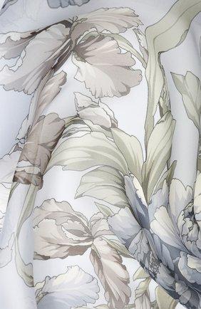 Женский шелковый платок EMILIO CONTE серого цвета, арт. K01414 SH530 | Фото 2