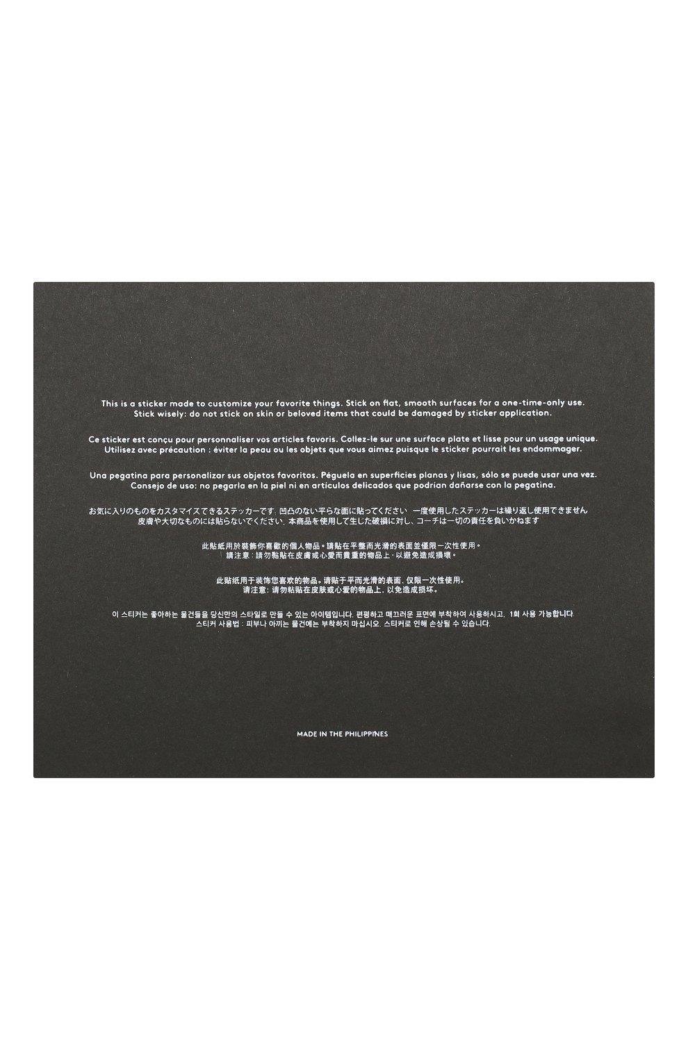 Мужского стикер COACH хаки цвета, арт. 75572 | Фото 2
