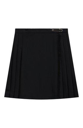 Детская юбка DAL LAGO темно-синего цвета, арт. R299/8739/7-12 | Фото 1