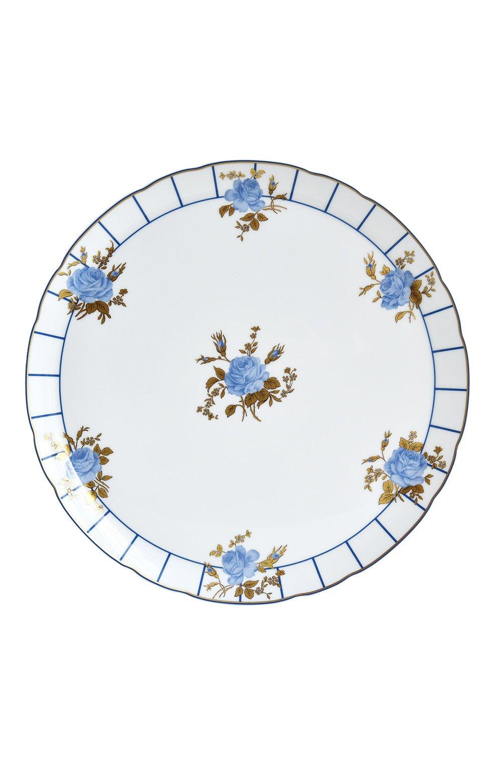 Мужского блюдо для торта brocante BERNARDAUD белого цвета, арт. 1829/121   Фото 1