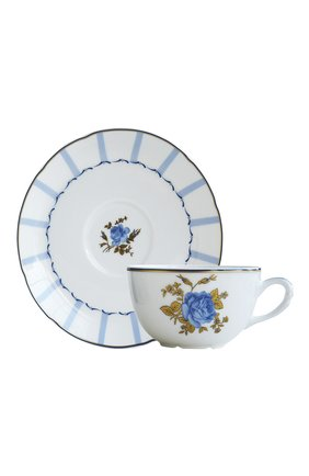 Чайная чашка с блюдцем Brocante | Фото №1
