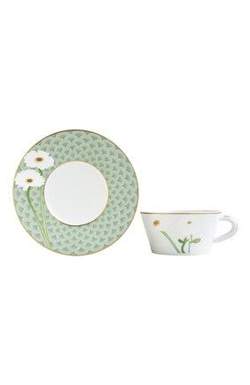 Мужская чайная чашка с блюдцем praiana BERNARDAUD зеленого цвета, арт. 1799/89 | Фото 1