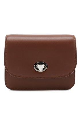 Женская поясная сумка flap pouch LORO PIANA коричневого цвета, арт. FAI7095 | Фото 1