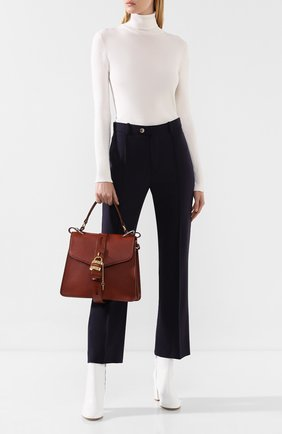 Женская сумка aby medium CHLOÉ коричневого цвета, арт. CHC19AS188B57   Фото 2