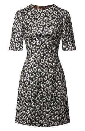 Женское платье DOLCE & GABBANA серебряного цвета, арт. F6F4GT/FJMZ5   Фото 1
