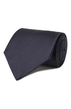 Мужской комплект из галстука и платка LANVIN темно-синего цвета, арт. 1282/TIE SET   Фото 1