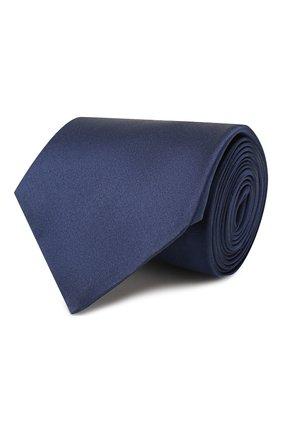 Мужской комплект из галстука и платка LANVIN синего цвета, арт. 1282/TIE SET   Фото 1