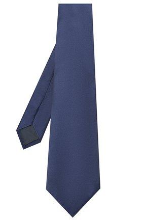 Мужской комплект из галстука и платка LANVIN синего цвета, арт. 1282/TIE SET   Фото 2