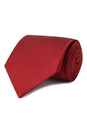Мужской комплект из галстука и платка LANVIN бордового цвета, арт. 1282/TIE SET | Фото 1