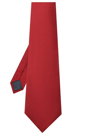 Мужской комплект из галстука и платка LANVIN бордового цвета, арт. 1282/TIE SET | Фото 2