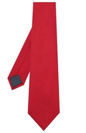 Мужской шелковый галстук LANVIN красного цвета, арт. 1207/TIE | Фото 2