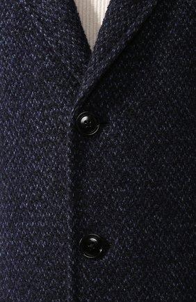 Пальто из смеси шерсти и кашемира | Фото №5