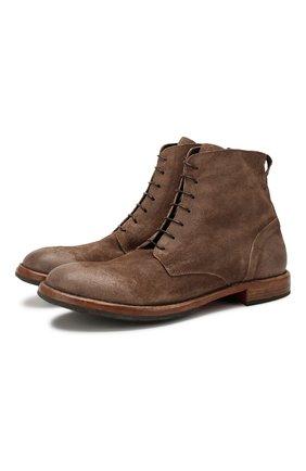 Мужские замшевые ботинки MOMA серого цвета, арт. 2CW022-BE | Фото 1