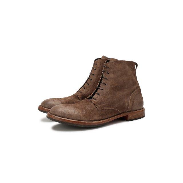 Замшевые ботинки Moma.