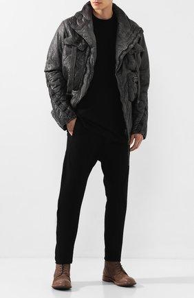 Мужские замшевые ботинки MOMA серого цвета, арт. 2CW022-BE | Фото 2