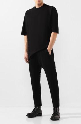 Мужские кожаные ботинки MOMA черного цвета, арт. 2CW007-CU | Фото 2
