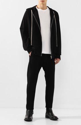 Мужские кожаные сапоги MOMA черного цвета, арт. 2CW001-CU | Фото 2