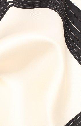 Мужской шелковый платок TOM FORD кремвого цвета, арт. 6TF102/TF312 | Фото 2