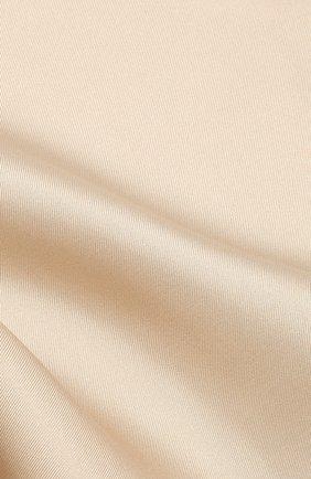 Мужской шелковый платок TOM FORD коричневого цвета, арт. 6TF90/TF312   Фото 2