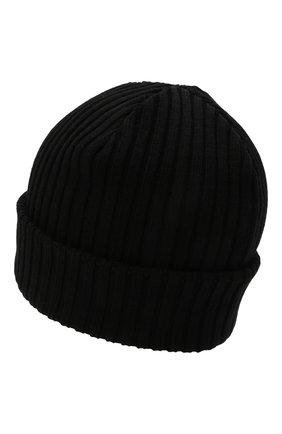 Мужская шерстяная шапка PAUL&SHARK черного цвета, арт. C0P1051 | Фото 2