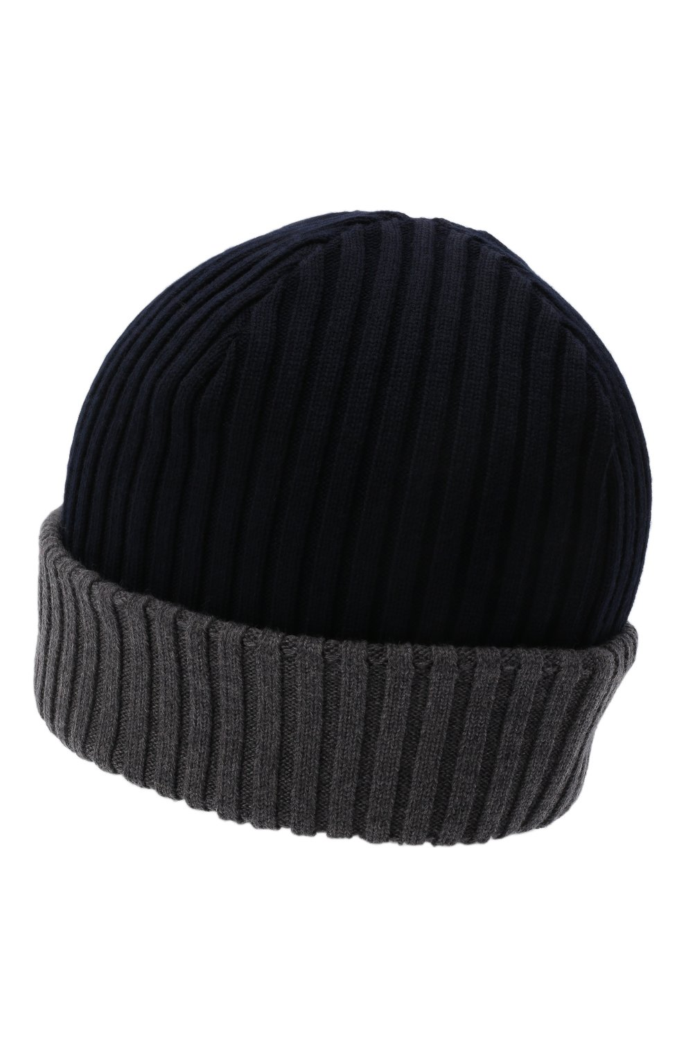 Мужская шерстяная шапка PAUL&SHARK серого цвета, арт. C0P1054/FLV   Фото 2