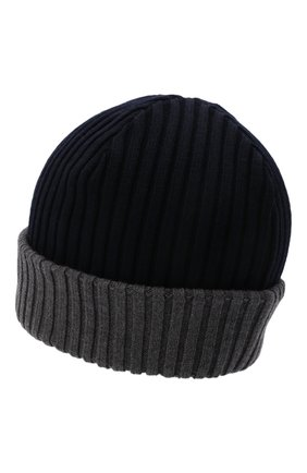 Мужская шерстяная шапка PAUL&SHARK серого цвета, арт. C0P1054/FLV | Фото 2
