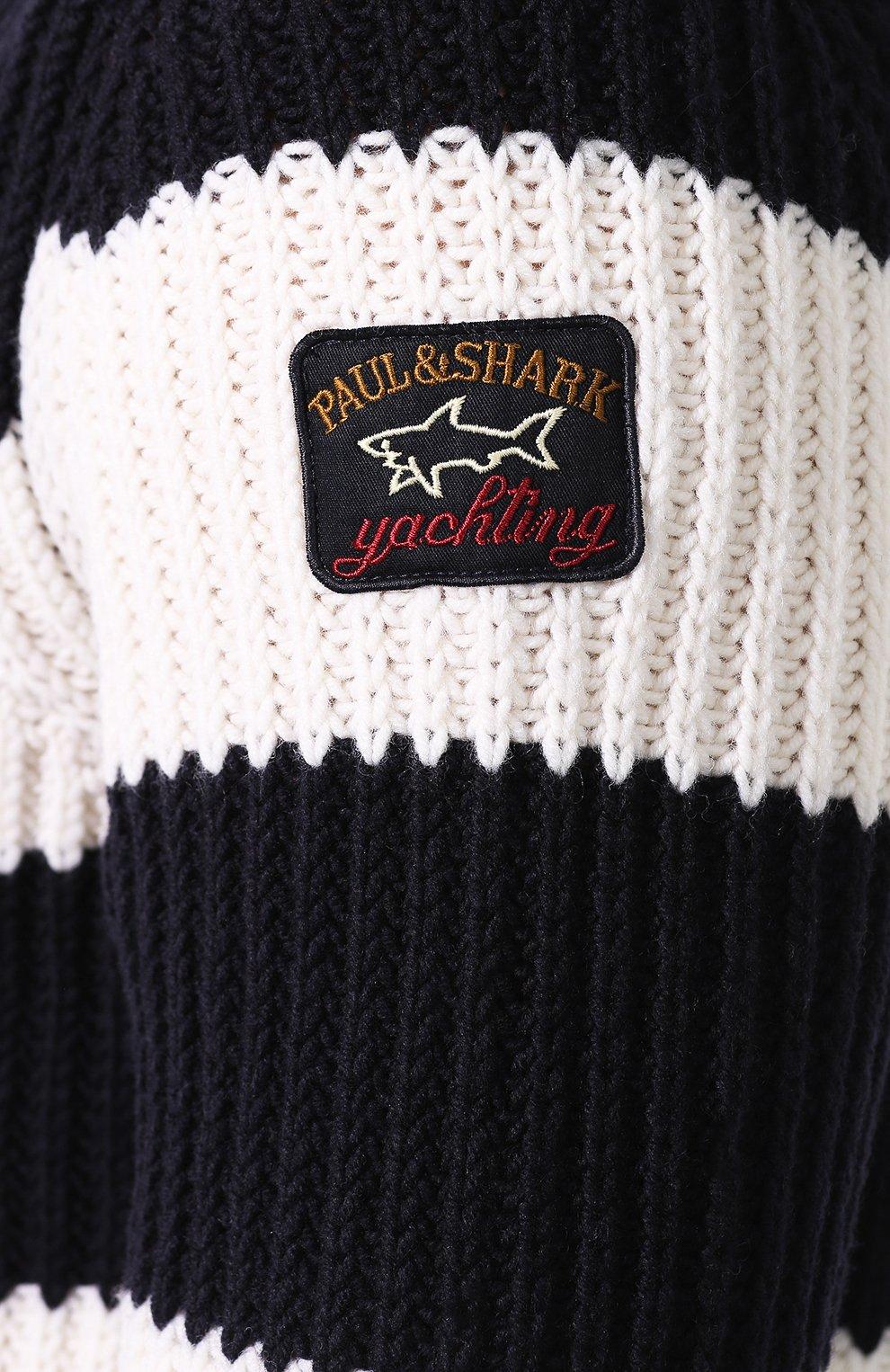 Шерстяной свитер | Фото №5