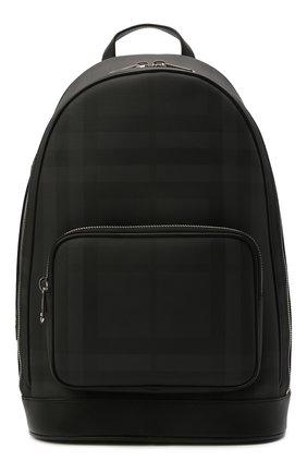 Мужской рюкзак BURBERRY темно-серого цвета, арт. 8013988 | Фото 1
