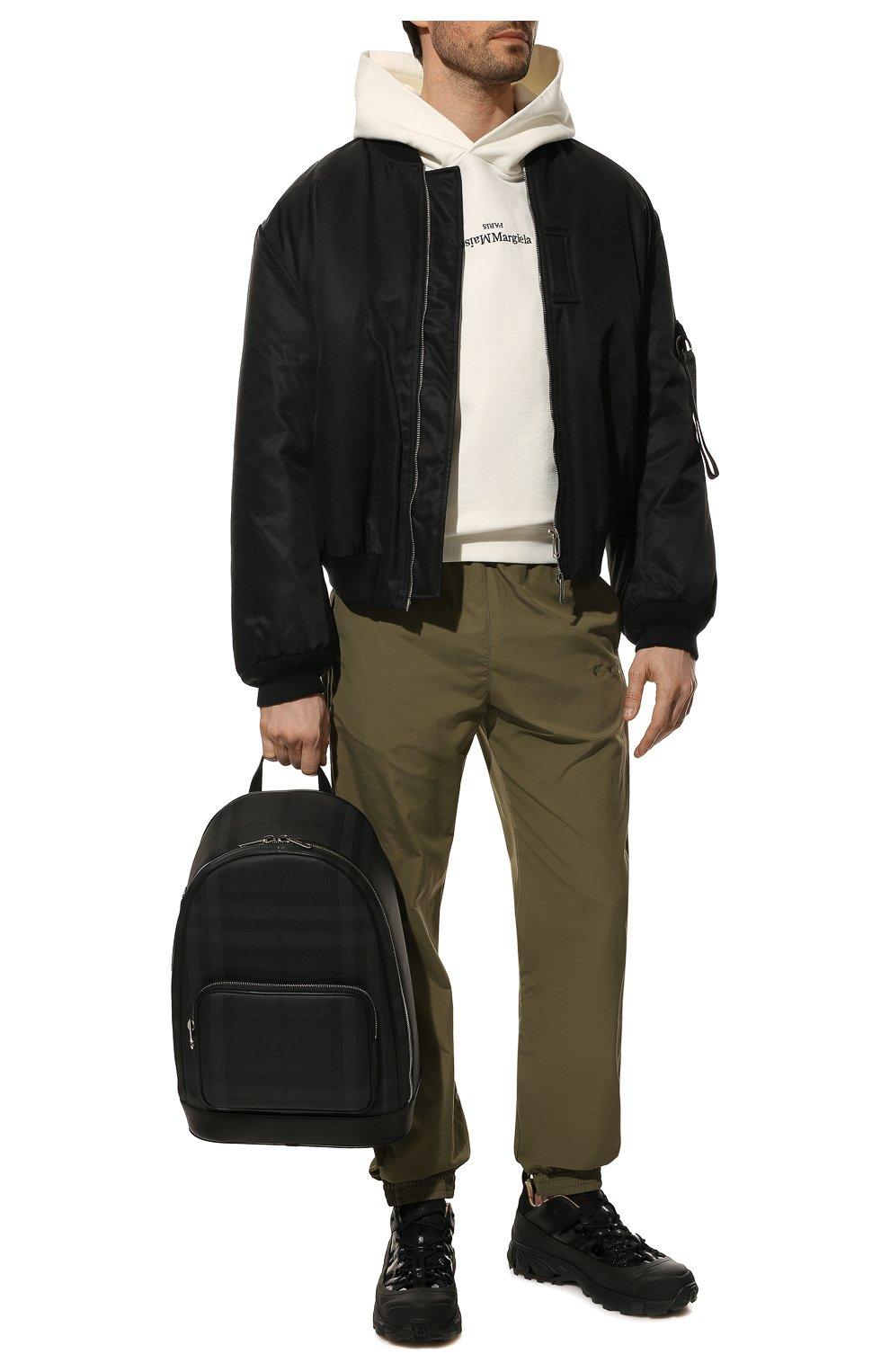 Мужской рюкзак BURBERRY темно-серого цвета, арт. 8013988 | Фото 3