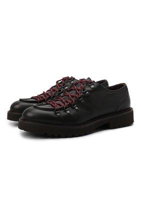 Мужские кожаные ботинки DOUCAL'S темно-коричневого цвета, арт. DU2135PHILPT344TM00 | Фото 1