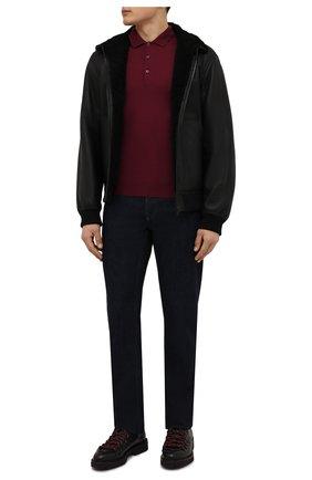 Мужские кожаные ботинки DOUCAL'S темно-коричневого цвета, арт. DU2135PHILPT344TM00 | Фото 2